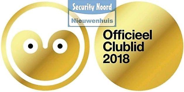 Lid van Club2018 - Security Noord Nieuwenhuis Drachten