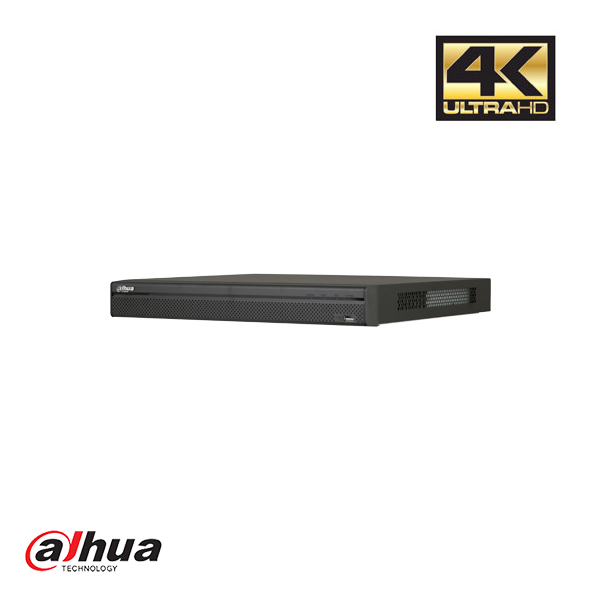 DAHUA 8 KANAALS 1U 8POE 4K&H.265 PRO NETWORK VIDEO RECORDER EPOE INCL 2 TB HDD - Security Noord Nieuwenhuis