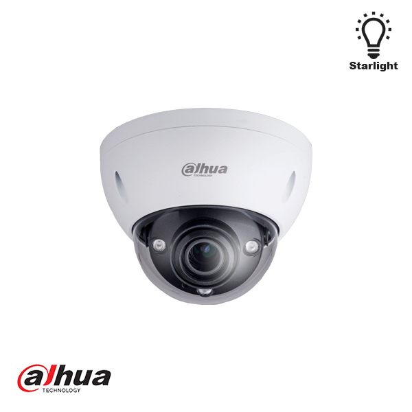 DAHUA 2MP STARLIGHT IR DOME CAMERA 2.7-13.5MM MOTORZOOM HDMI - Security Noord Nieuwenhuis