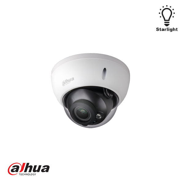 DAHUA 2MP WDR STARLIGHT IR DOME NETWORK CAMERA EPOE - Security Noord Nieuwenhuis