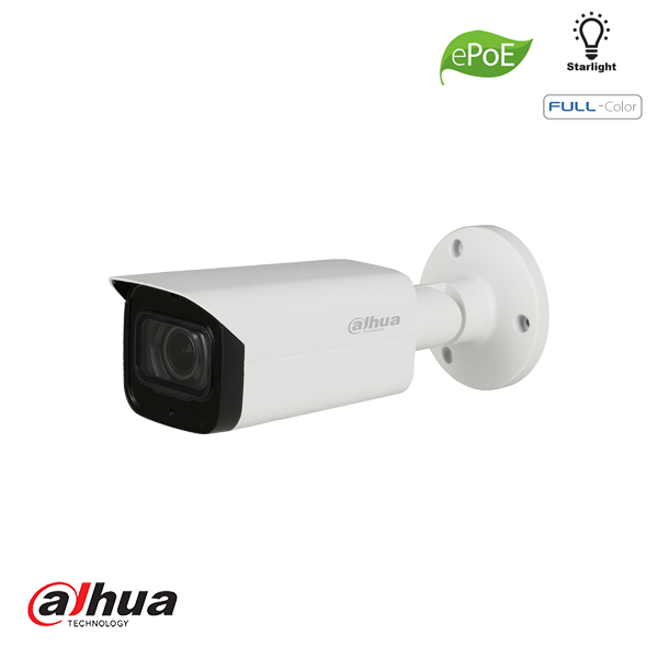 DAHUA 2MP WDR FULL-COLOR STARLIGHT MINI BULLET NETWORK CAMERA 3.6MM - Security Noord Nieuwenhuis