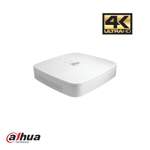 DAHUA 4 CHANNEL PENTA-BRID 4K SMART 1U DIGITAL VIDEO RECORDER INCL. 1TB Security Noord Nieuwenhuis
