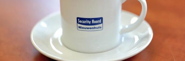 Koffie bij Security Noord Nieuwenhuis Drachten