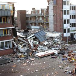 De 'explosieflat' van Drachten Security Noord Nieuwenhuis